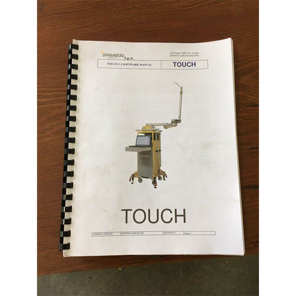 Spanesi Touch Computerized Measuring System